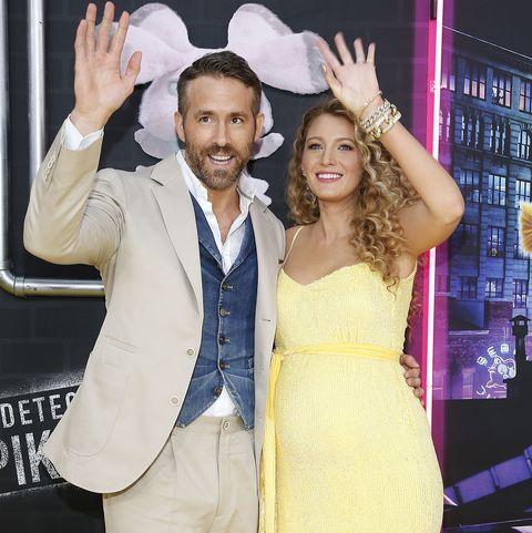 Blake Lively Ryan Reynolds third baby