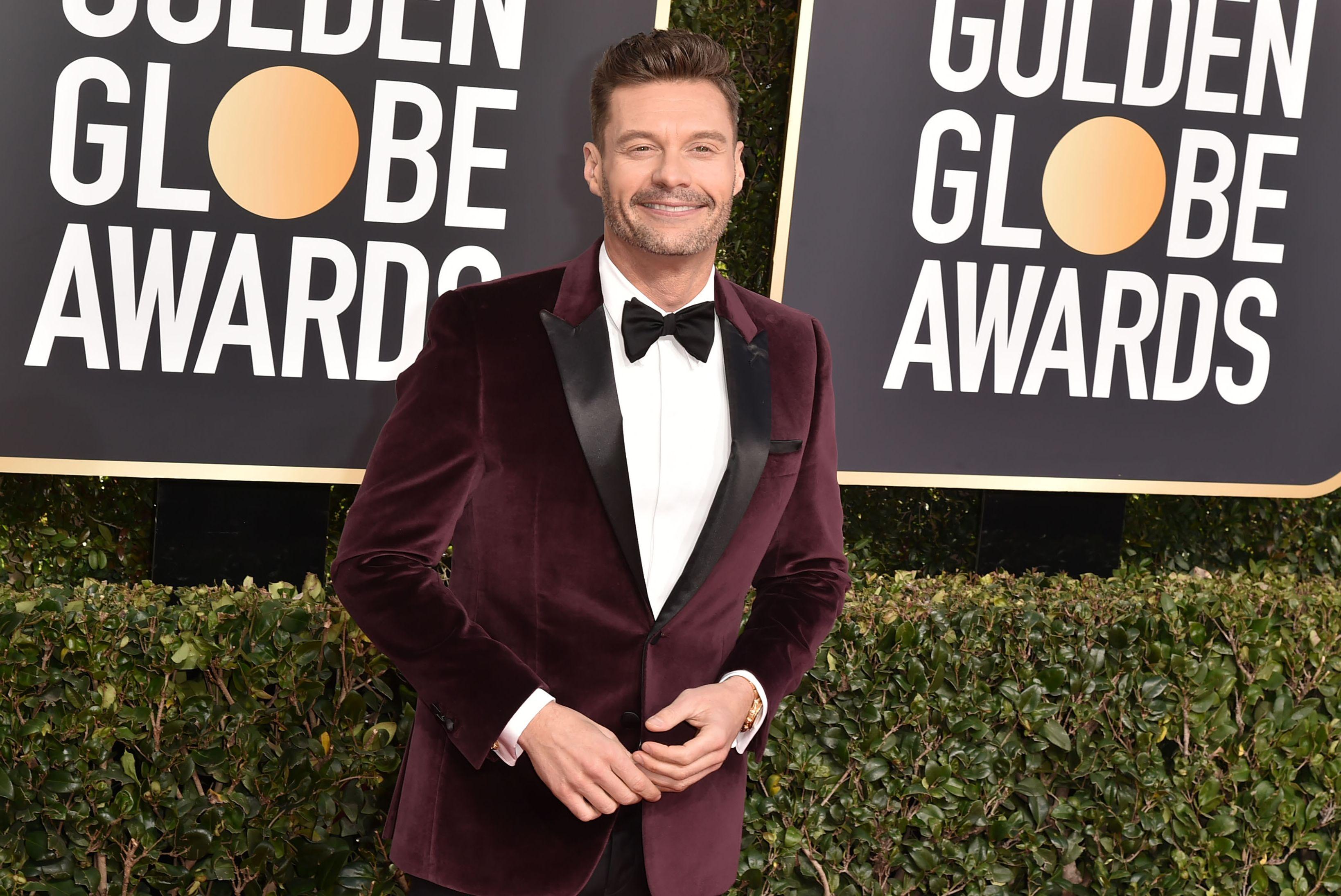 Ryan Seacrest - Golden Globe 2019 Awkward Moments