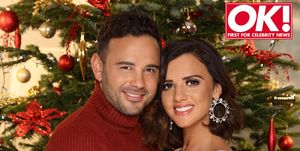 Ryan Thomas and Lucy Mecklenburgh in OK! magazine.