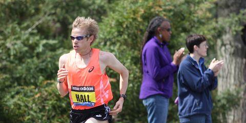 Ryan Hall 2014 Boston Marathon