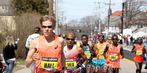 Ryan Hall Leads 2014 Boston