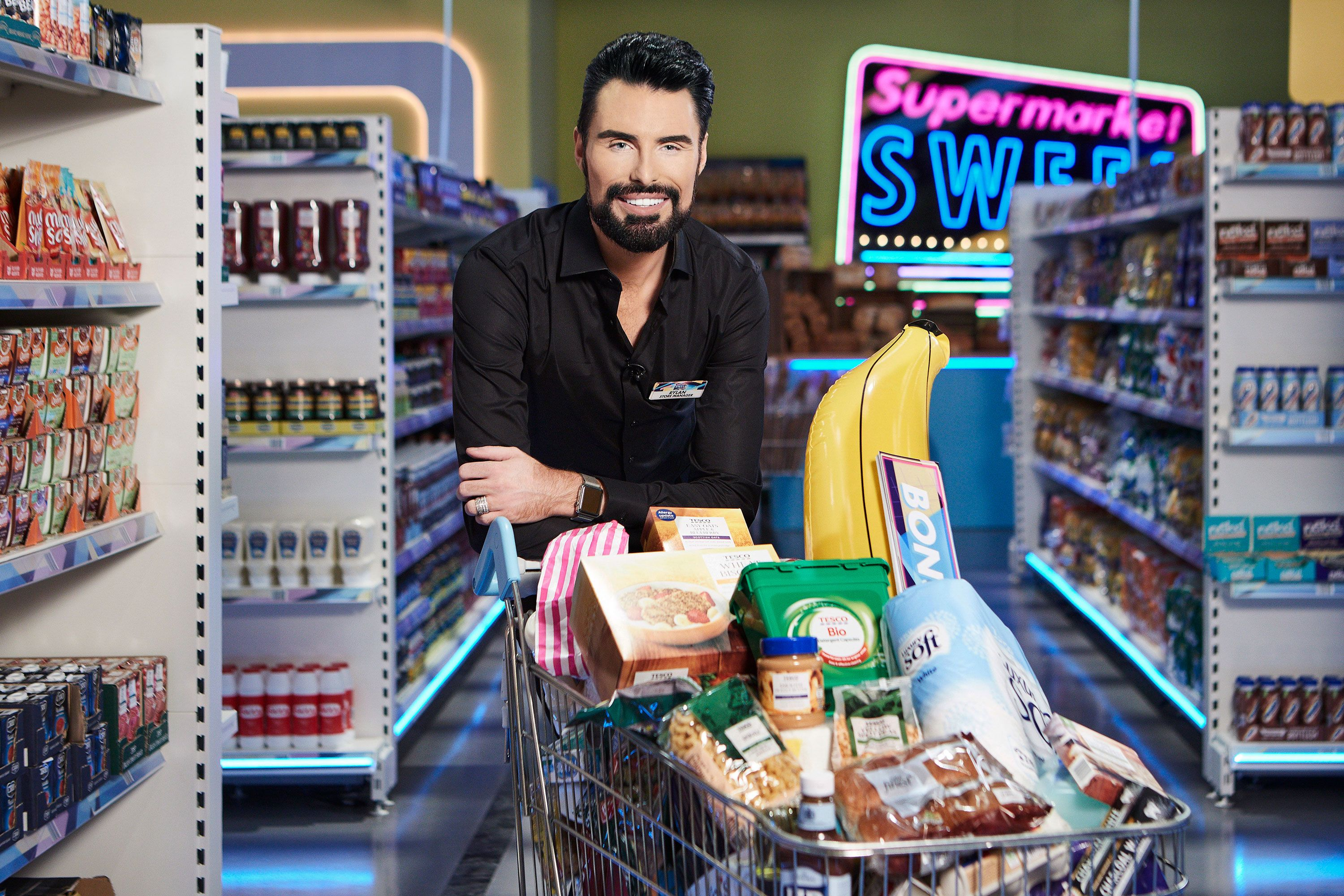 Rylan Clark-Neal responds to trolls who criticise Supermarket Sweep
