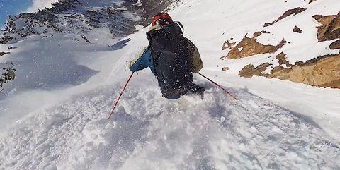 Snow, Geological phenomenon, Recreation, Adventure, Winter, Ice, Mountaineer, Mountaineering, Ski, Winter sport,