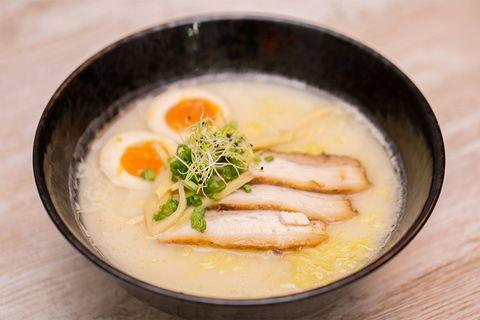 Dish, Food, Cuisine, Ingredient, Soup, Japanese cuisine, Produce, Comfort food, Chawanmushi, Caldo de pollo,