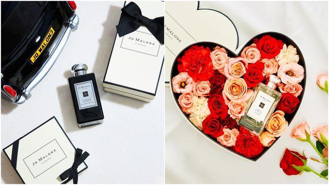 七夕情人節最浪漫禮物登場!jo malone london獻上限量的愛情花盒幫你傳情達意!男女對香糅合出你們專屬的味道