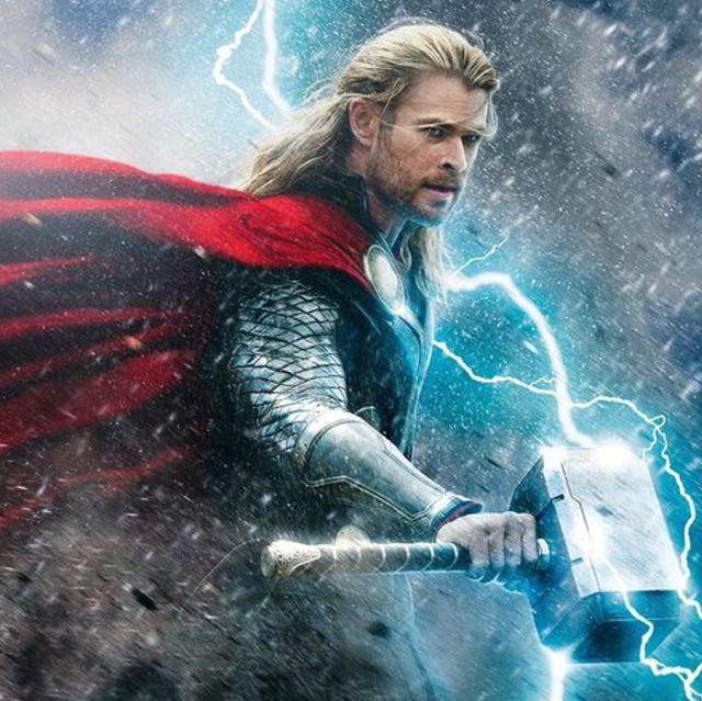 Superhero, Fictional character, Poster, Thor, Cg artwork, Graphic design, Movie,