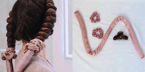 不用電棒也能捲髮!4招「 捲髮帶、球球包頭造捲術」連手殘人都能做浪漫大捲