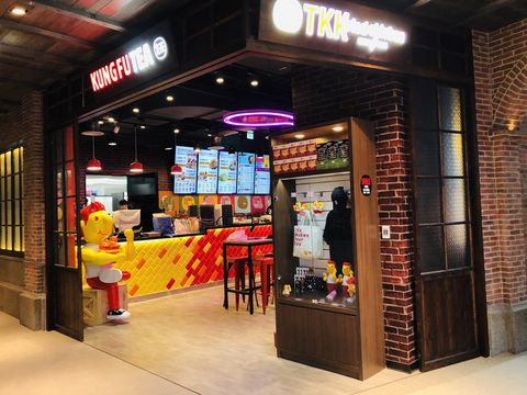 Building, Interior design, Architecture, Retail, Outlet store, Fast food restaurant,
