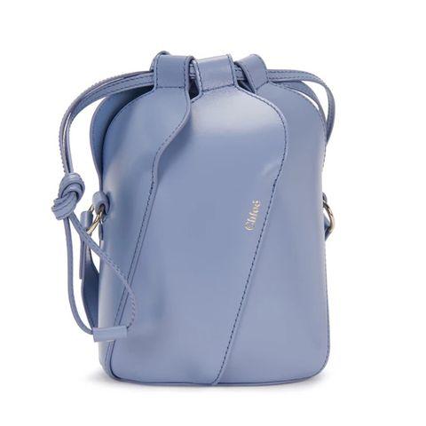 chloé 水藍水桶包