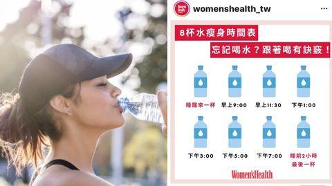 8杯水減肥