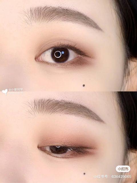 單眼皮妝容