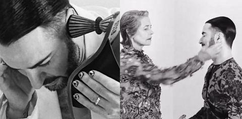Marc Jacobs 大鬧GIVENCHY 最新廣告!超搞笑繞口令、上表演課 最後還被搧巴掌實在太瘋狂~