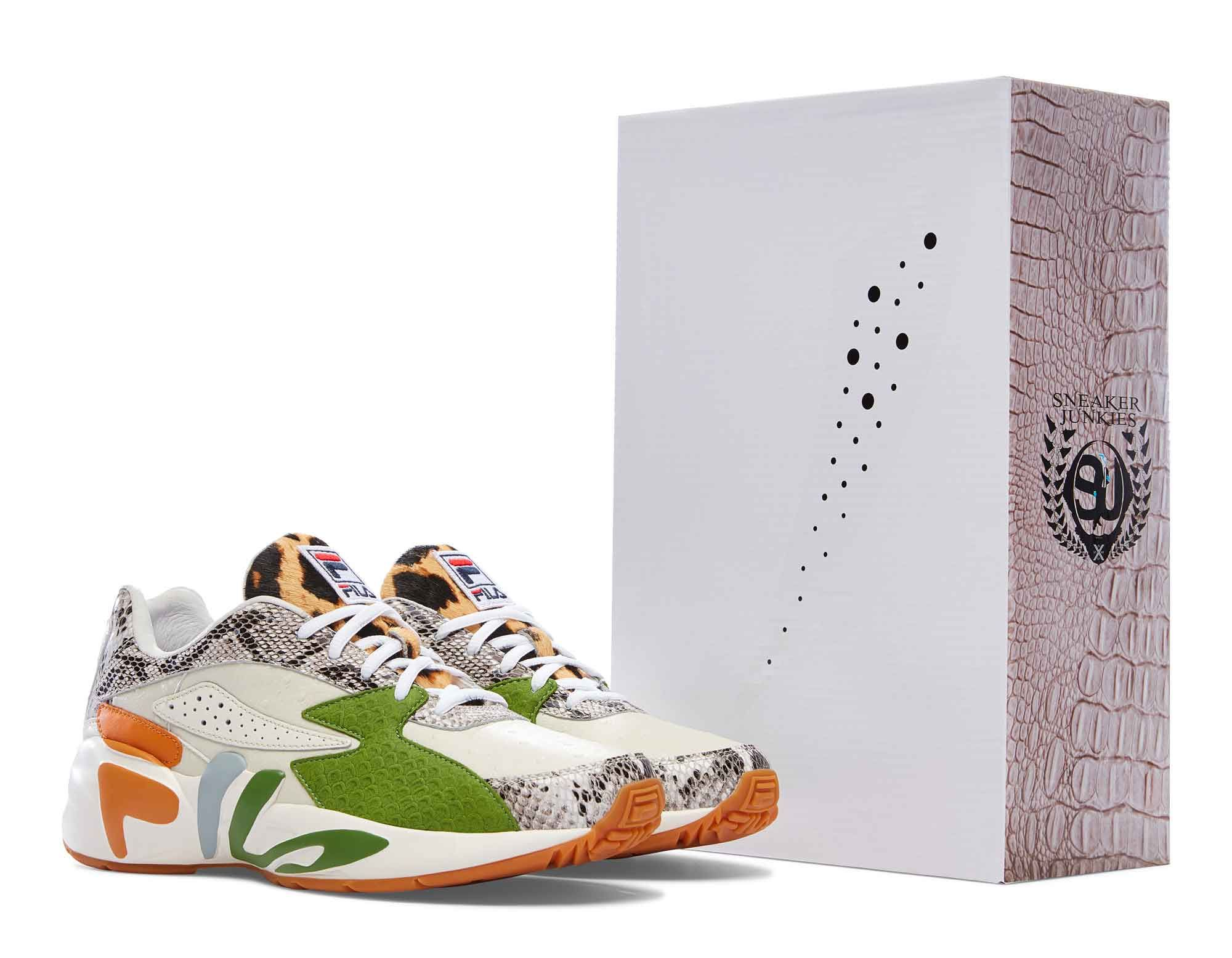 8bed0ce8b367 Fila Is Relaunching Its Classic  Mindblower  Sneaker With 47 Different  Collaborations