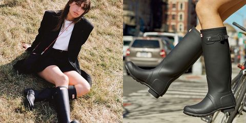 女孩們想要一雙有防水機能又時髦好走的雨靴,就千萬不能錯過HUNTER!