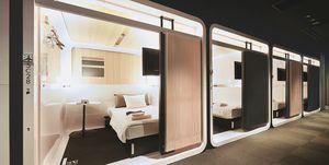 住進東京超夯頭等艙!First Cabin 膠囊旅館的房間超寬敞超舒適,以後都不想花錢住飯店了啦