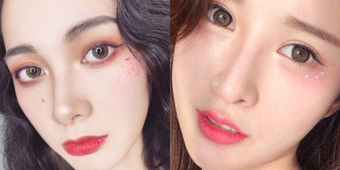 Face, Lip, Eyebrow, Hair, Cheek, Skin, Nose, Chin, Beauty, Pink,