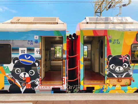 臺鐵郵輪式列車全新升級