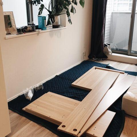 Floor, Room, Property, Furniture, Table, Hardwood, Interior design, Wood flooring, Wood, Flooring,