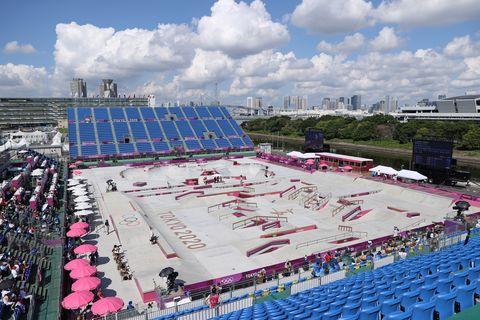 2020東京奧運首度比賽滑板 比賽賽場
