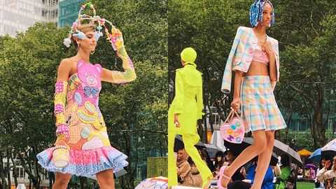 crazie julia 紐約時裝周