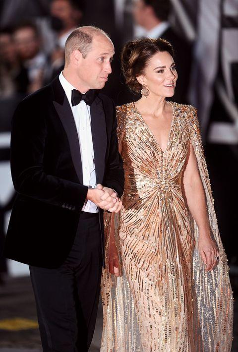 凱特王妃 《007生死交戰》 紅毯首映會