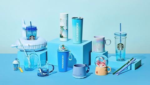 韓國星巴克推出「小鯨魚」環保吸管組、冷飲漂浮杯