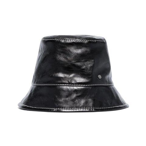 黑色防水帽