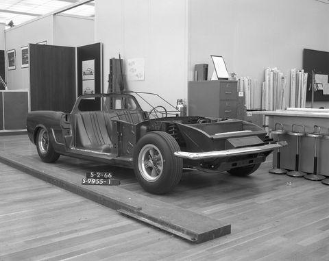 Mid engine Mustang prototype