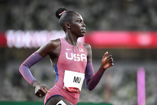 athing mu gana los 800 metros en los juegos olimpicos de tokio