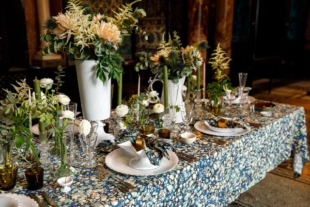summerill  bishop table design, aw20 in leighton house museum by nicole hains