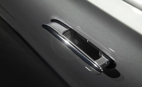 2021 mercedes benz s class pull out door handle