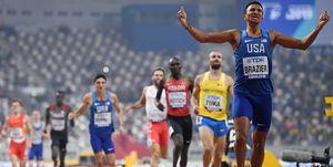 Adrián Ben, Donovan Brazier, Doha 2019, Mundial de atletismo