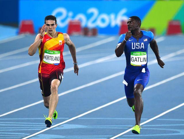 bruno hortelano compite en los juegos olímpicos de río 2016