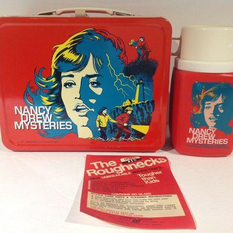 nancy drew lunchbox