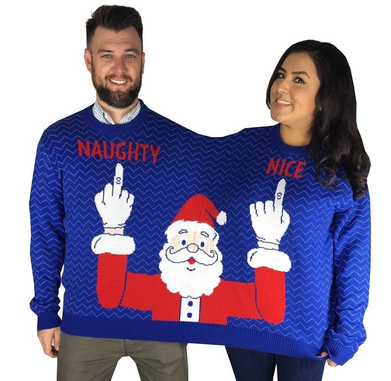 17 Naughty Christmas Sweaters Inappropriate But Funny Ugly