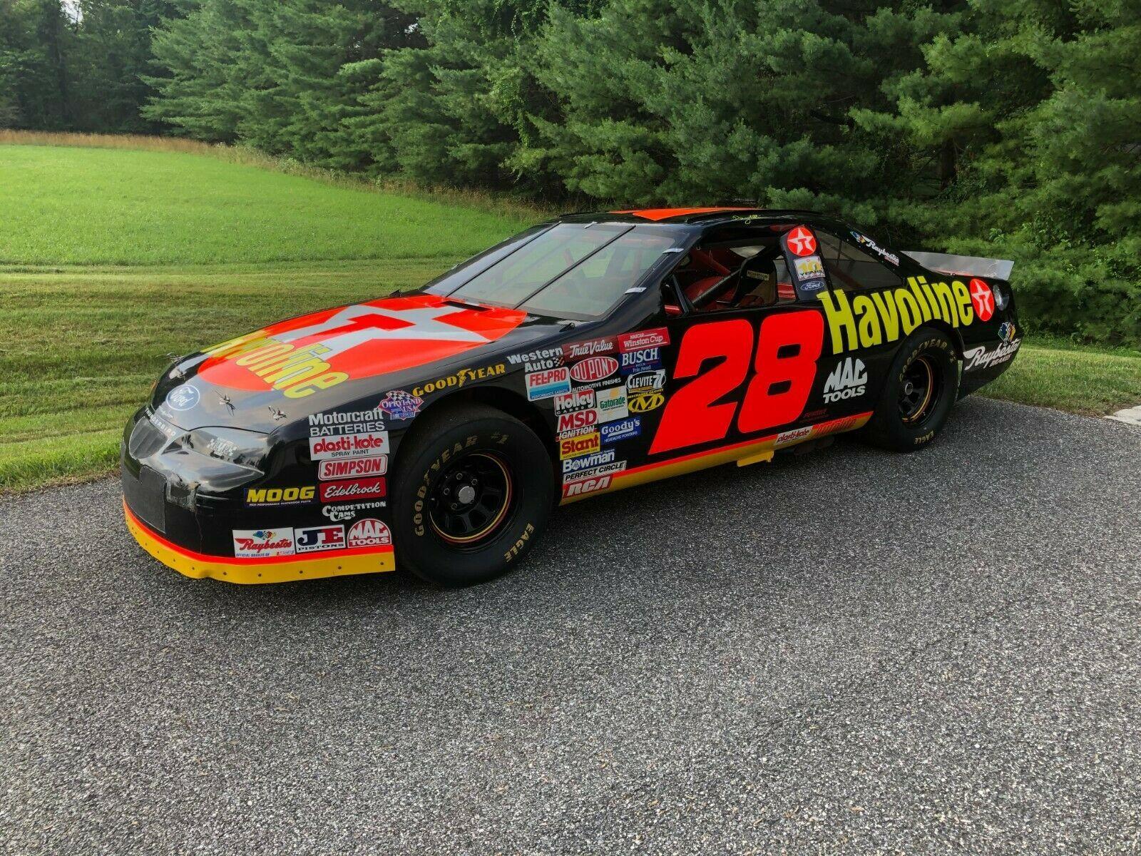 The Nascar Cup Car Davey Allison Crashed At Pocono Is For Sale
