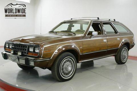 Land vehicle, Vehicle, Car, Amc eagle, Amc spirit, Sedan, Classic car, Full-size car, Coupé, Subcompact car,