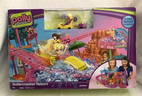 polly pocket roller coaster resort playset mattel