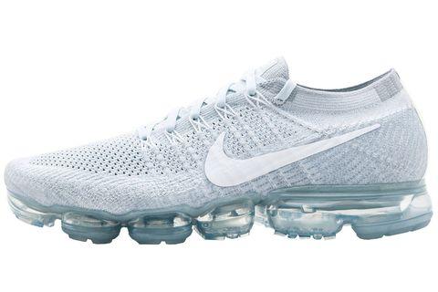 Shoe, Footwear, Running shoe, Outdoor shoe, White, Athletic shoe, Walking shoe, Cross training shoe, Product, Tennis shoe,