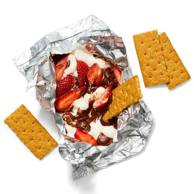 s'mores dip foil packs