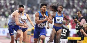 4x400m relevo mixto. record mundial Doha 2019