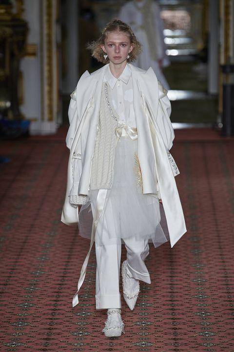 White, Fashion, Clothing, Haute couture, Fashion model, Dress, Outerwear, Fashion design, Fashion accessory, Costume,