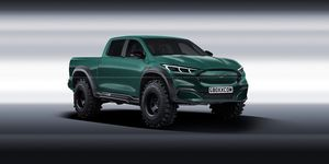 Ford Mustang Mach-E pick-up - render