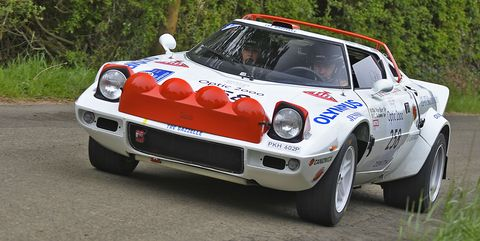 This Lancia Stratos Has Been Racing Since It Was New