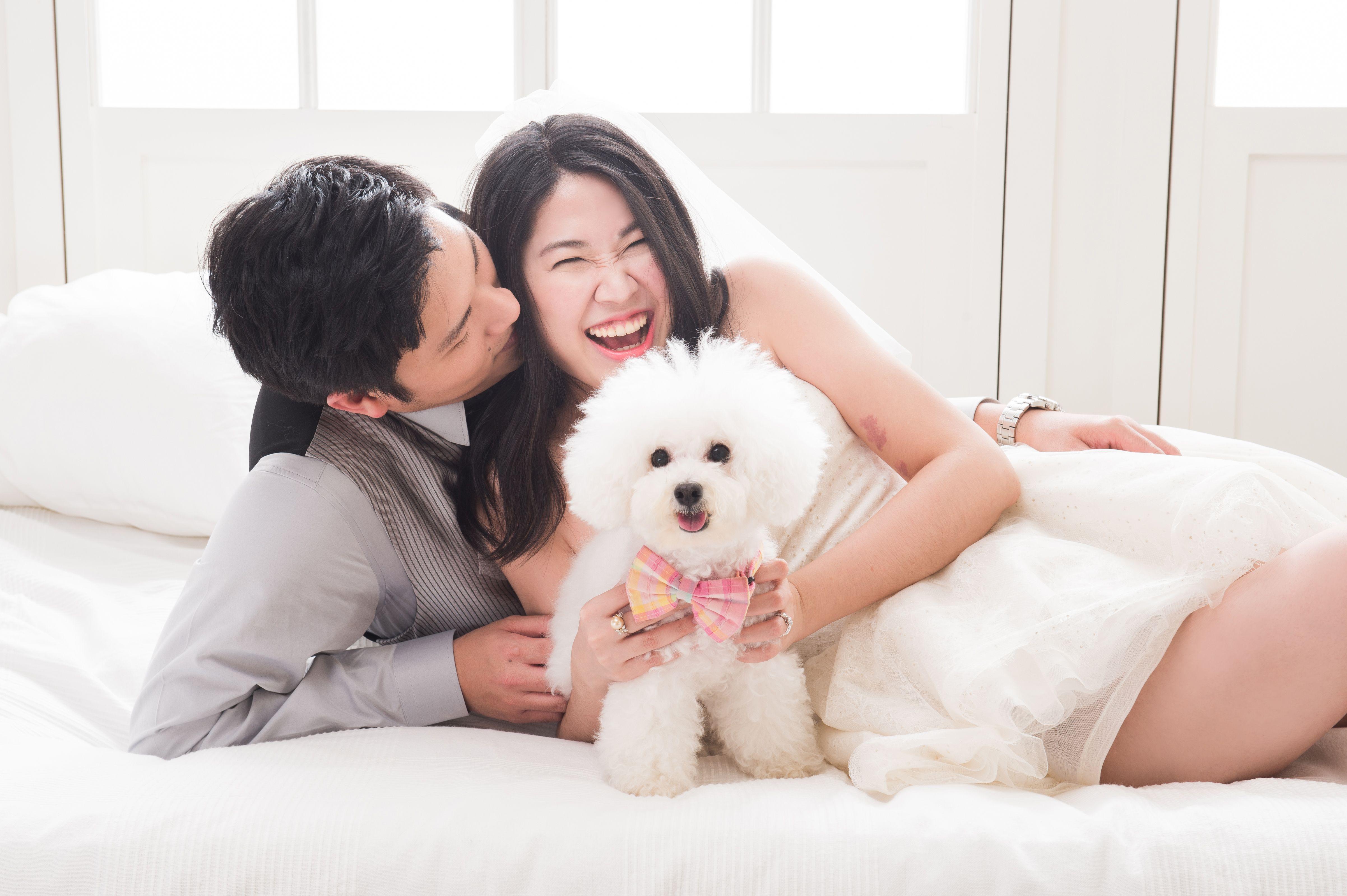 毛小孩,寵物,婚禮