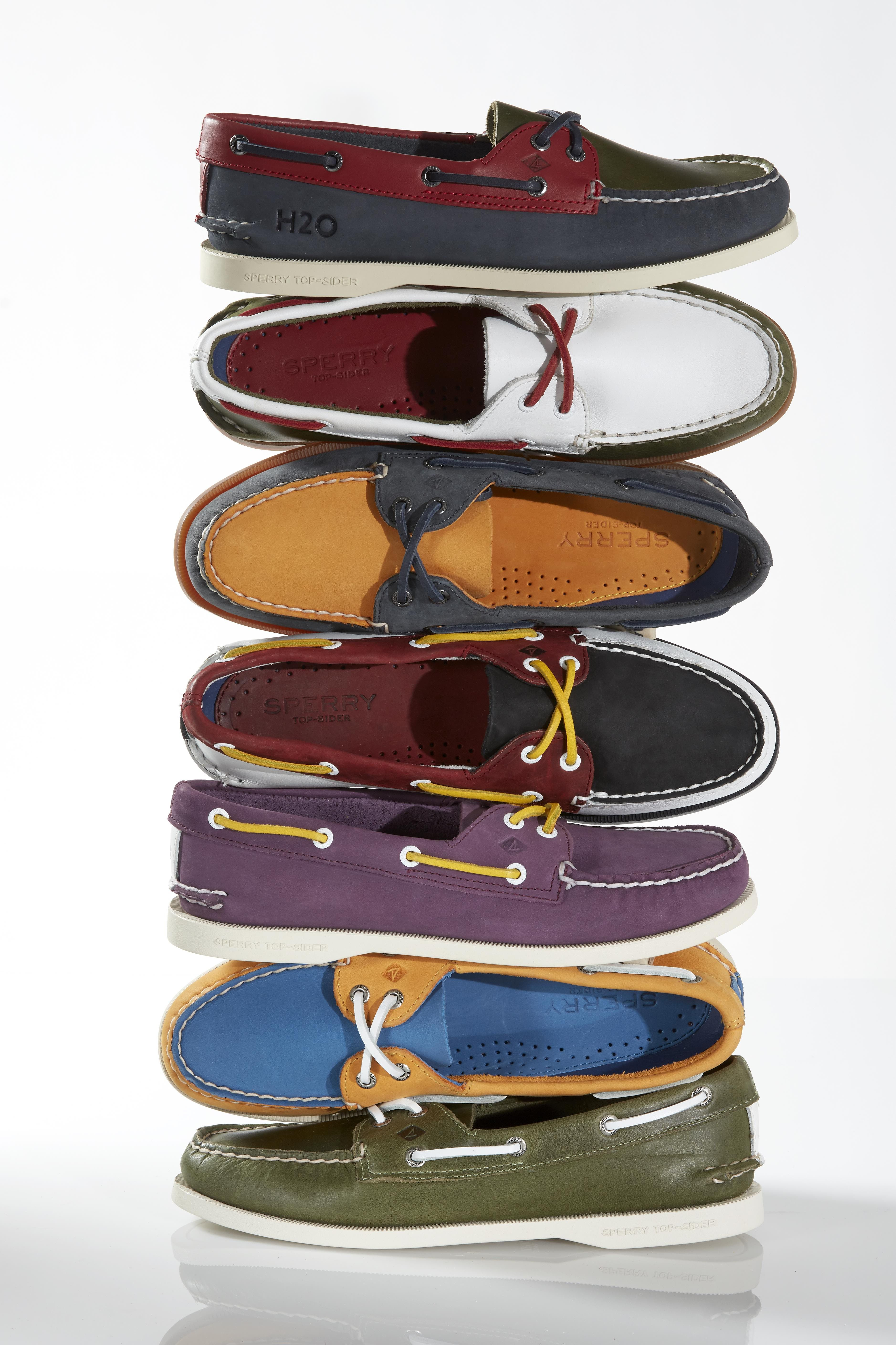 Sperry Launches Custom Boat Shoes