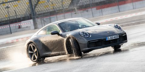 New Porsche 911 Uses Microphones To Save You From Hydroplaning
