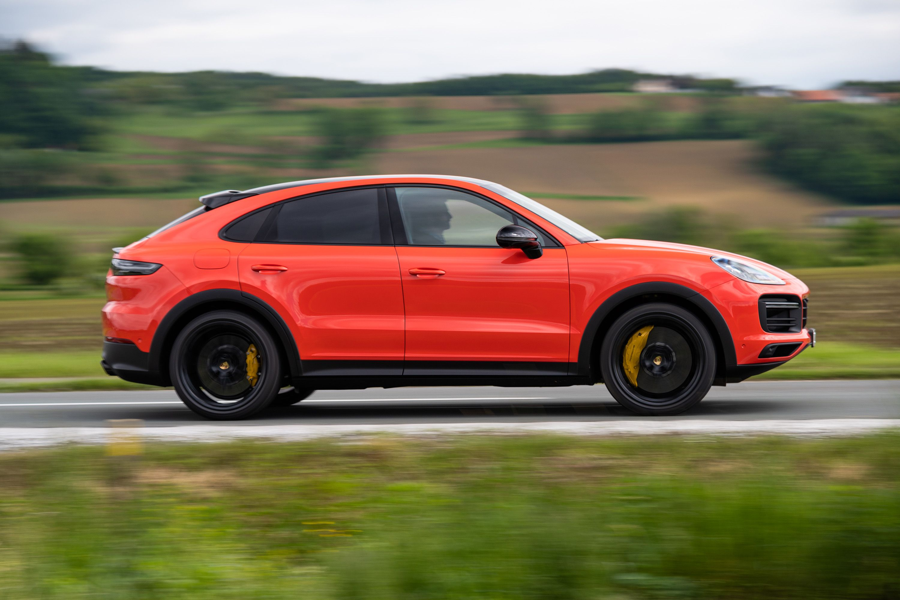 The Porsche Cayenne Coupe Wears The 911 S Hat