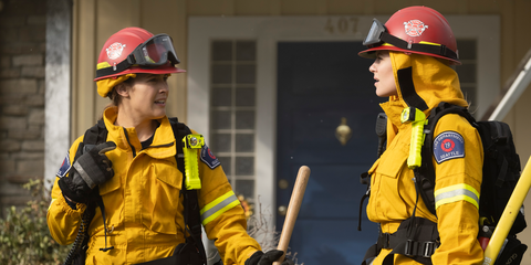 Blue-collar worker, Yellow, Personal protective equipment, Workwear, Firefighter, Fire marshal, Job, Rescuer, Emergency service, Emergency,