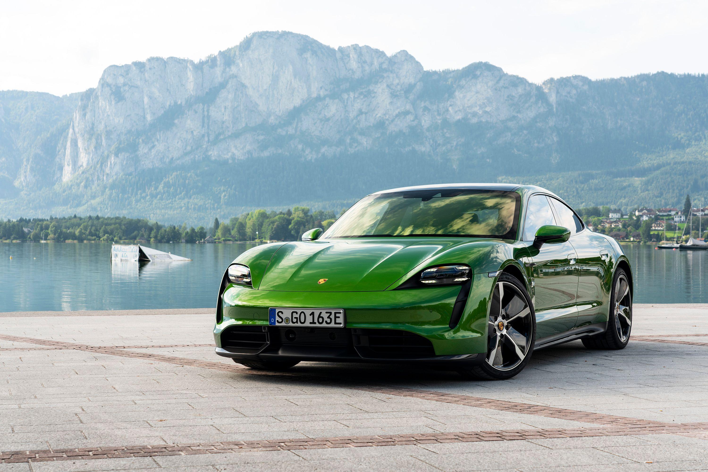 2020 Porsche Taycan Turbo S First Drive